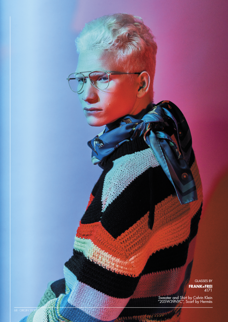 eyewear fashion editorial Koberg eyewear