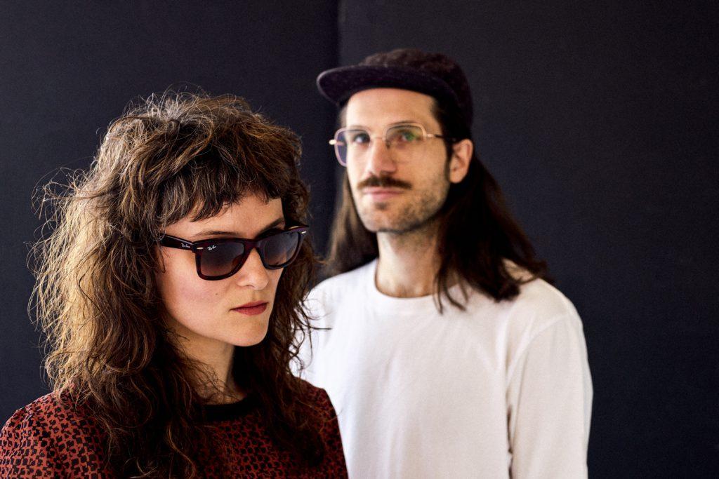 nausica band singer edita wearing ray ban sunglasses