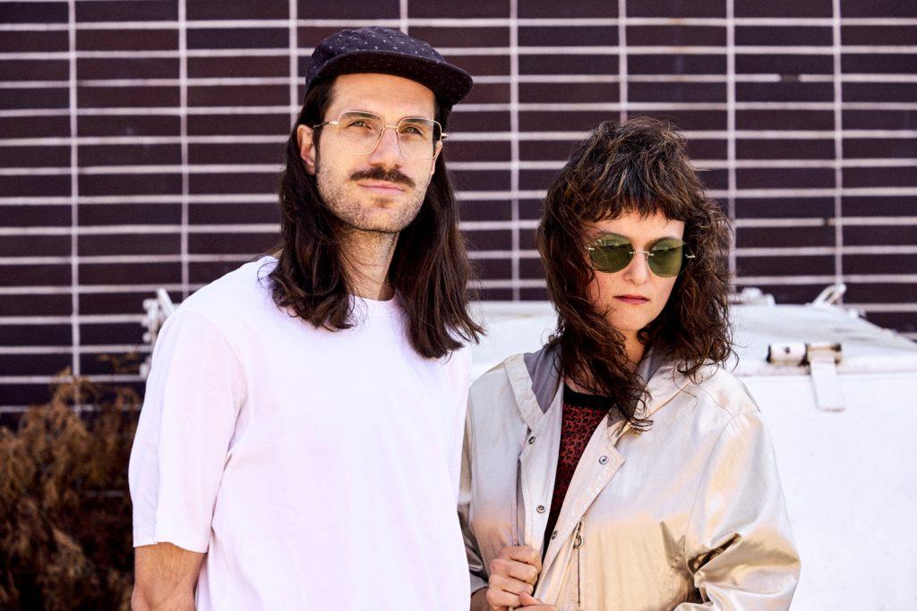 band portrait of nausica band, edita and jannis