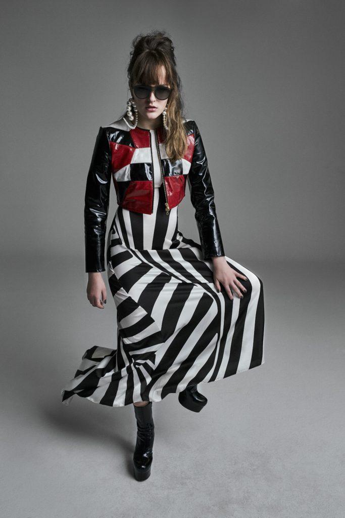 dress by fashion designer Thomas Harnisch